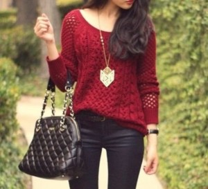 dzc1tx-l-610x610-sweater-clothes-red-holes-bag-jeans-maroon-oversized-sweater
